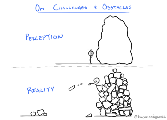 On Challenges and Obstacles